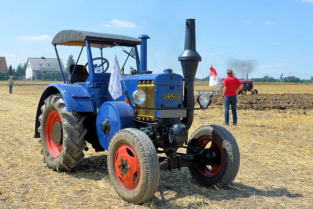 Stare Ursusy - nadal pomocne w polskich gospodarstwach